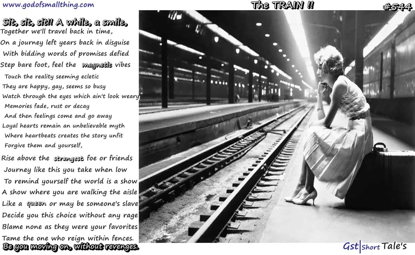 The Train By Chahat Sharma :GODofsmallthing
