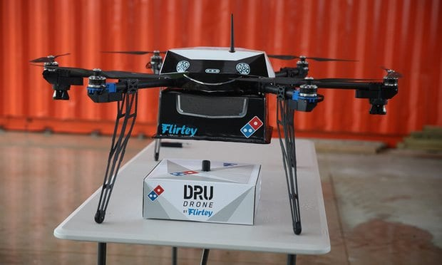 Domino's planning drone pizza delivery service in New Zealand .