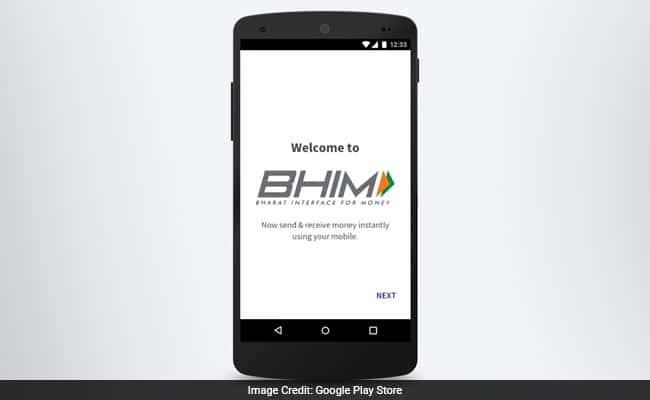 Download BHIM App for digital payment