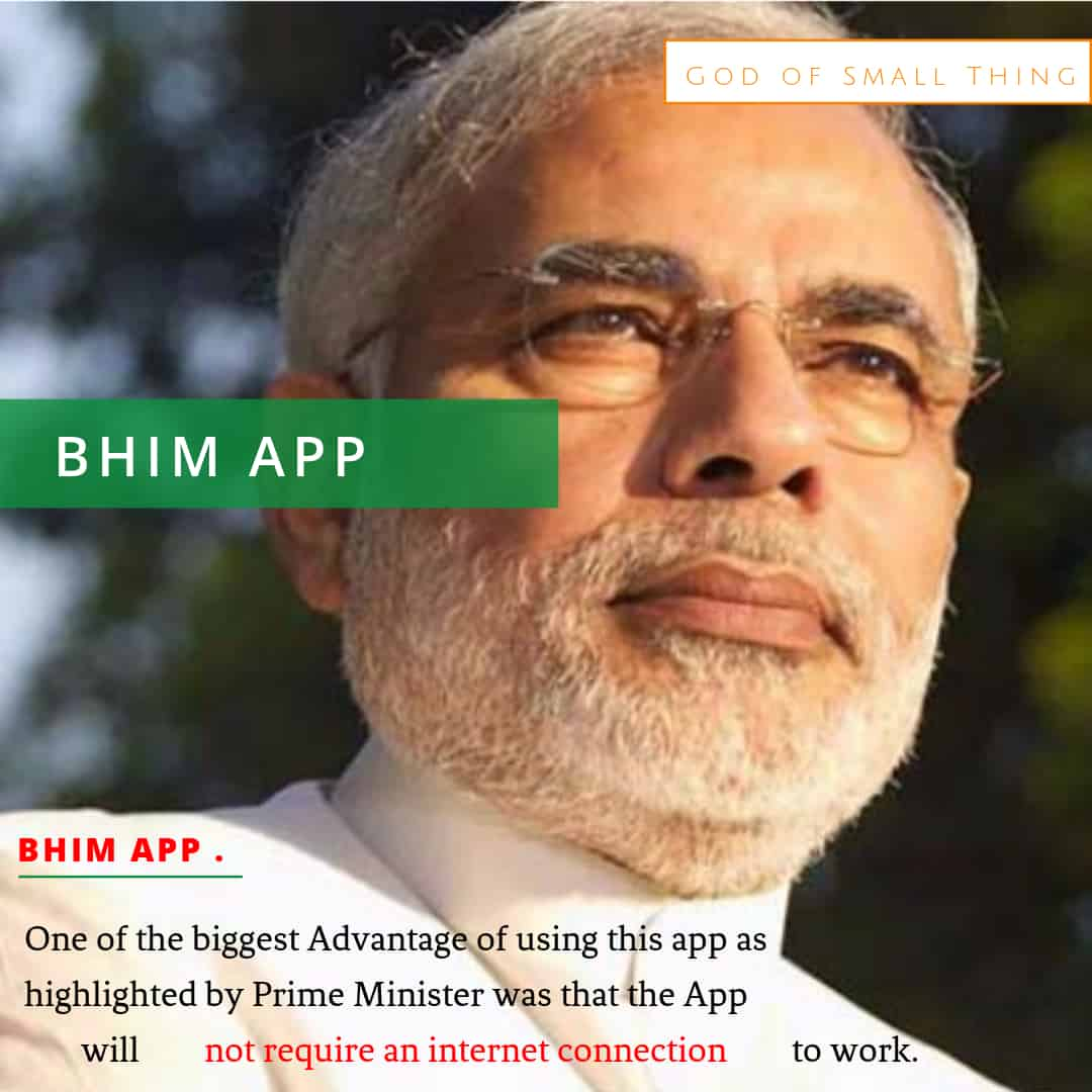 BHIM App for digital payment