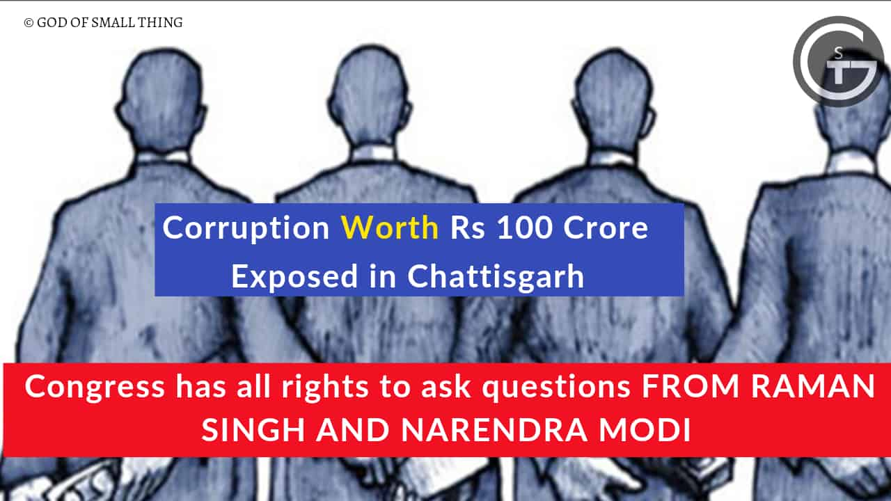 corruption of 100 crores