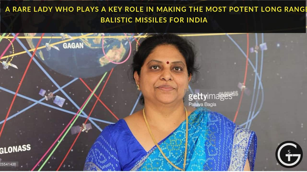 missile woman of India -tessy thomas