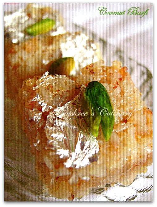 Simple Diwali Sweet Recipes with Just 3 Ingredients: Coconut Barfi