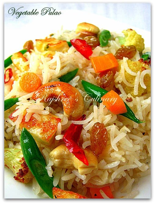 Foods to Build Resistance Against Effects of Air Pollution: Vegetable Pulao