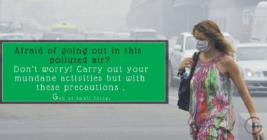 Afraid of going out in this polluted air? Don't worry! Carry out your mundane activities but with these precautions.