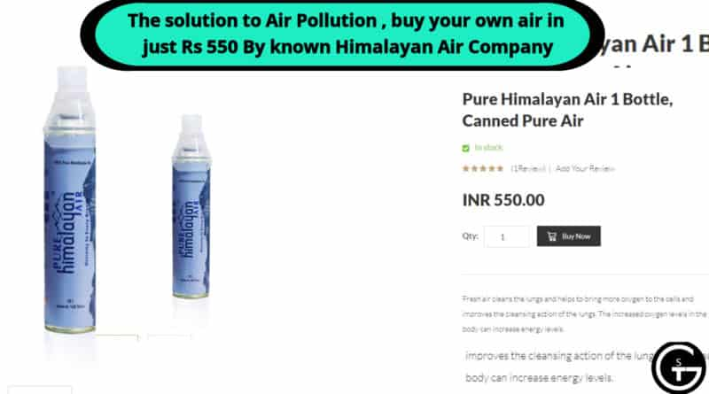 Buy Pure Himalayan Air