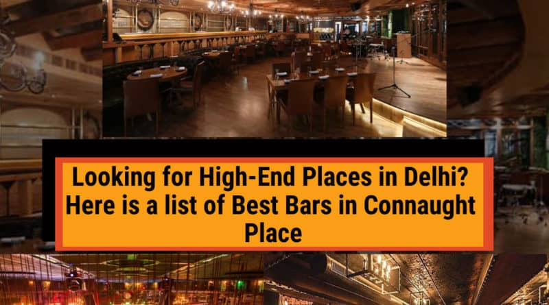 Best Bars in Connaught Place
