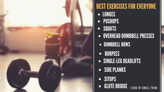 best exercise for a healthy body,   Best Exercises for Everyone