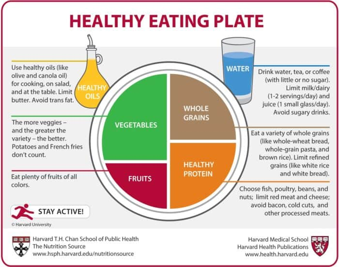 how to be a healthy woman: Healthy eating plate is all we need
