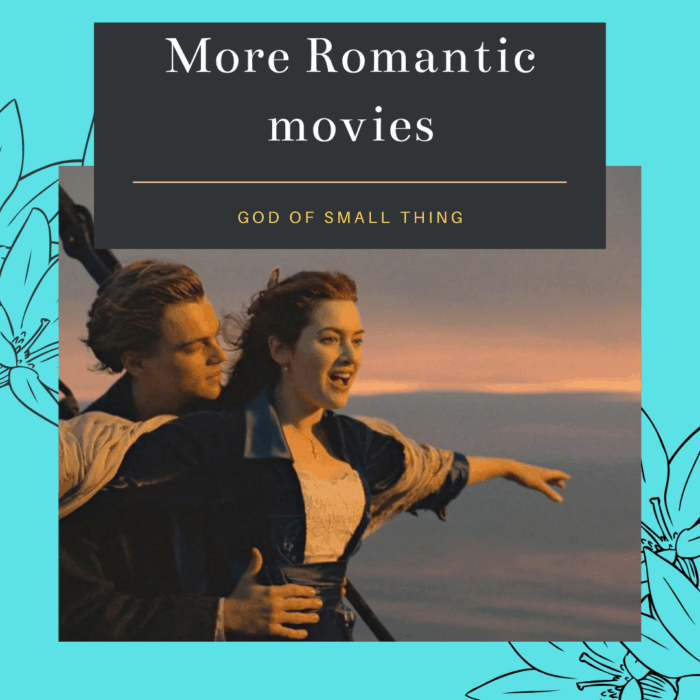 Proven Signs You're in Love:   Romantic movies