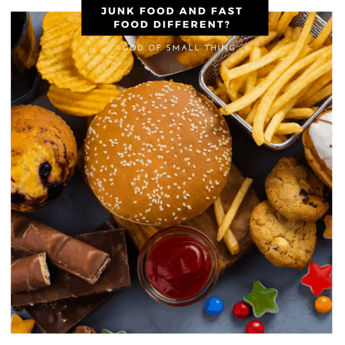Are Junk Food and Fast food different?