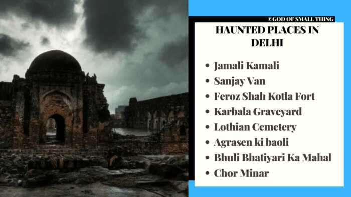 List of  Haunted places in Delhi