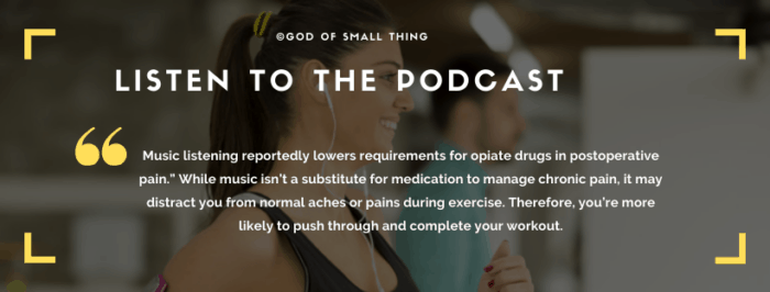 beginners workout tips: Listen to the podcast