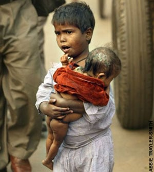 Beggars in India