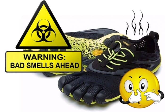 Get rid of the shoe smell