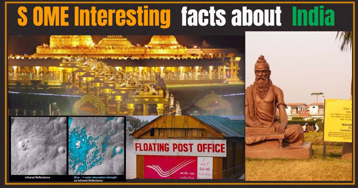 Some Interesting facts about India