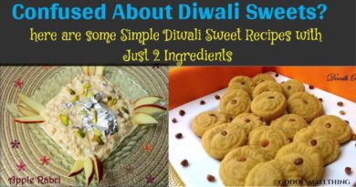 Simple Diwali Sweet Recipes with Just 2 Ingredients: Homemade Food Recipes
