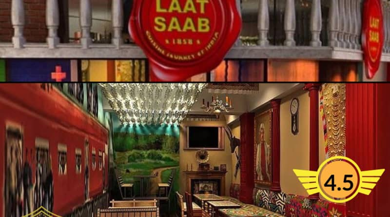 Good Places to eat in Delhi Laat Saab Pricing and Reviews