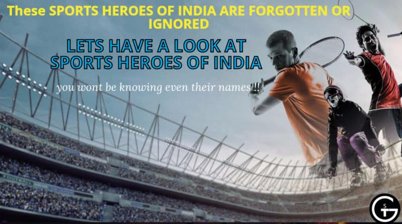 Talented Sportsmen :sports heroes of India