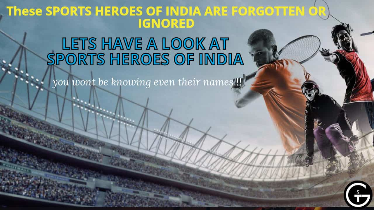 sports heroes of india ,Talented Sportsmen