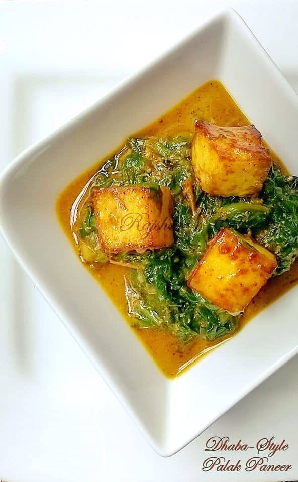 Foods to Build Resistance Against Effects of Air Pollution: Palak Paneer