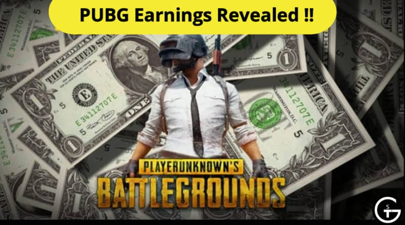 pubg earnings