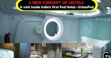 A visit inside India's first Pod Hotel- UrbanPod | God of Small Thing