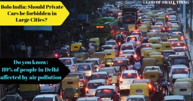 Bolo India: Should Private Cars be forbidden in Large Cities?