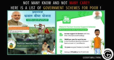 Government schemes for the poor