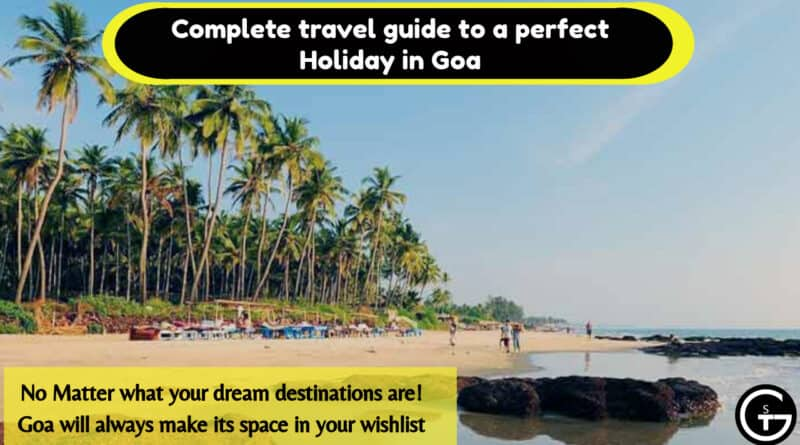 Complete travel guide to a perfect Holiday in Goa   God of Small Thing