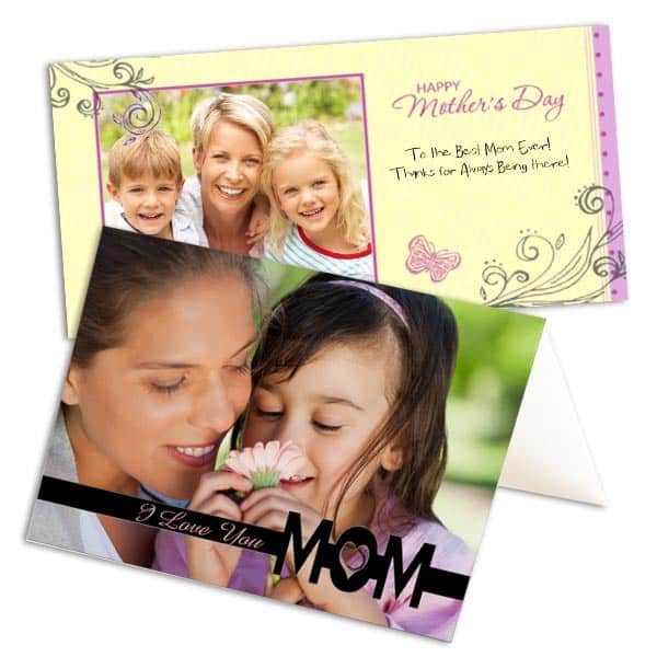Mothers day gift ideas Make a collage of her photographs with you-