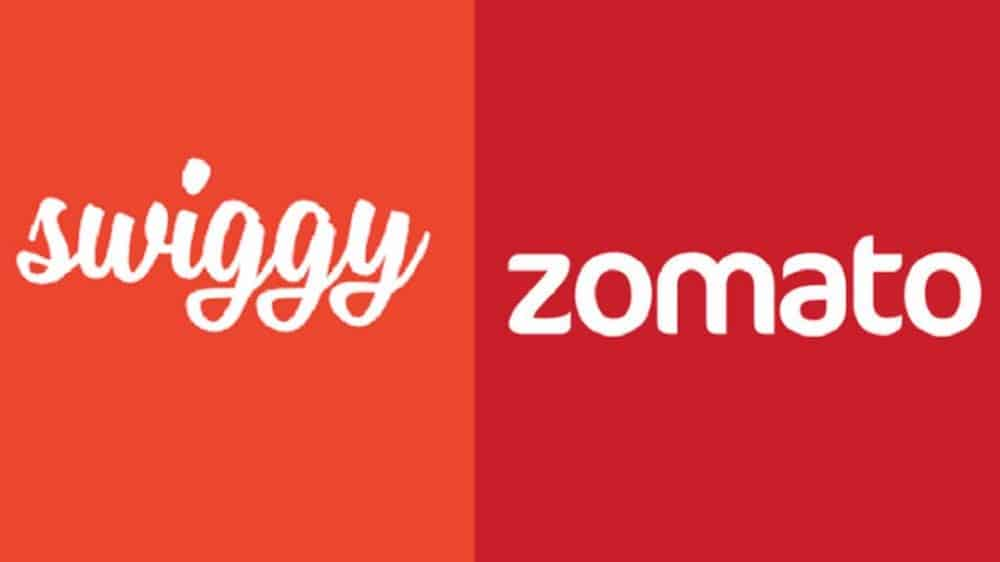 Swiggy and Zomato