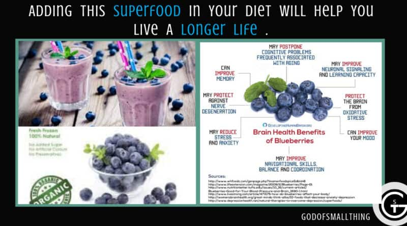 Superfood: Blueberries: Health benefits, facts, and research