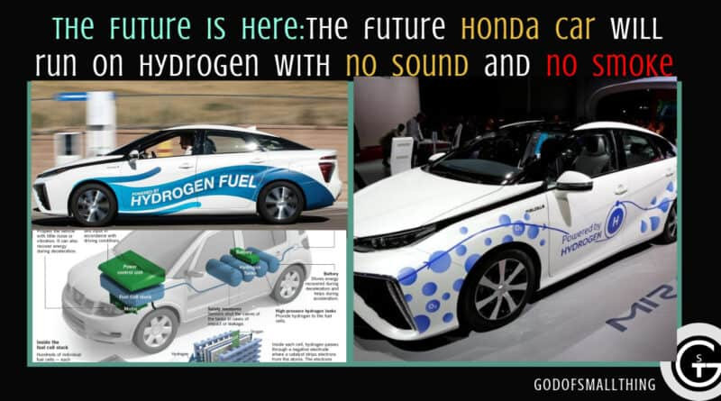 The future Honda car will run on Hydrogen with no sound and no smoke