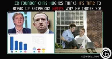 Facebook news: Co-founder Chris Hughes thinks It's time to break up Facebook! Here's why he thinks so!