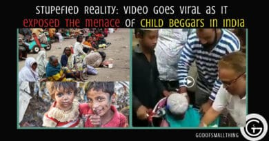 menace of child beggars in India