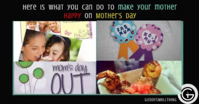 Here is what you can do to make your mother happy on Mother's day