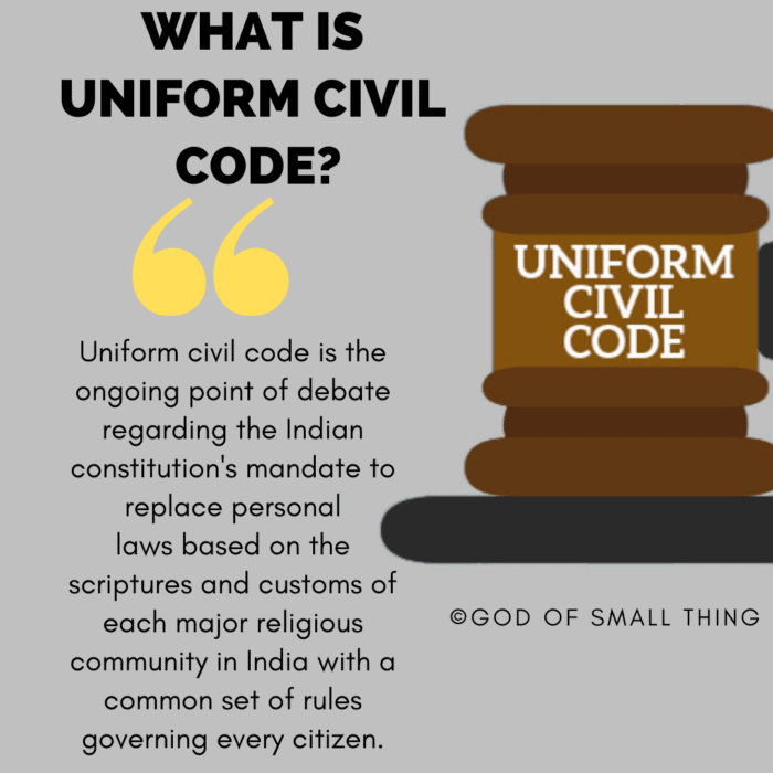 What is Uniform Civil Code