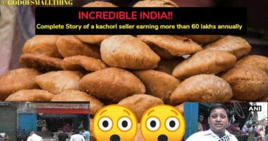 Complete Story of a kachori seller earning more than 60 lakhs annually - God of Small Thing
