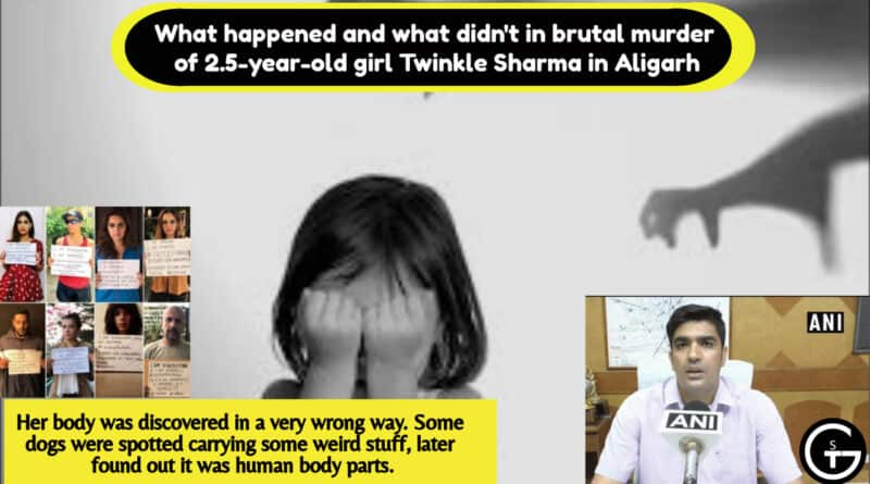 What happened and what didn't in brutal murder of 2.5-year-old girl Twinkle Sharma in Aligarh| God of Small Thing