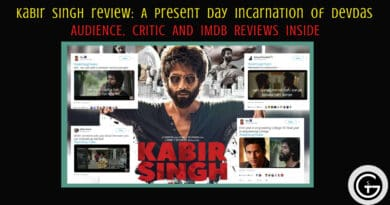 Kabir Singh review: A present day incarnation of Devdas - God of Small Thing