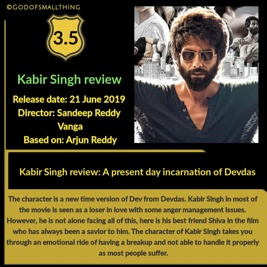 Kabir Singh Critic Review