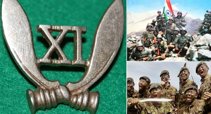 """11th Gorkha Rifles. Indian Army: A Regiment like no other """"Sikkim Scouts- Guardians of Honour"""""""