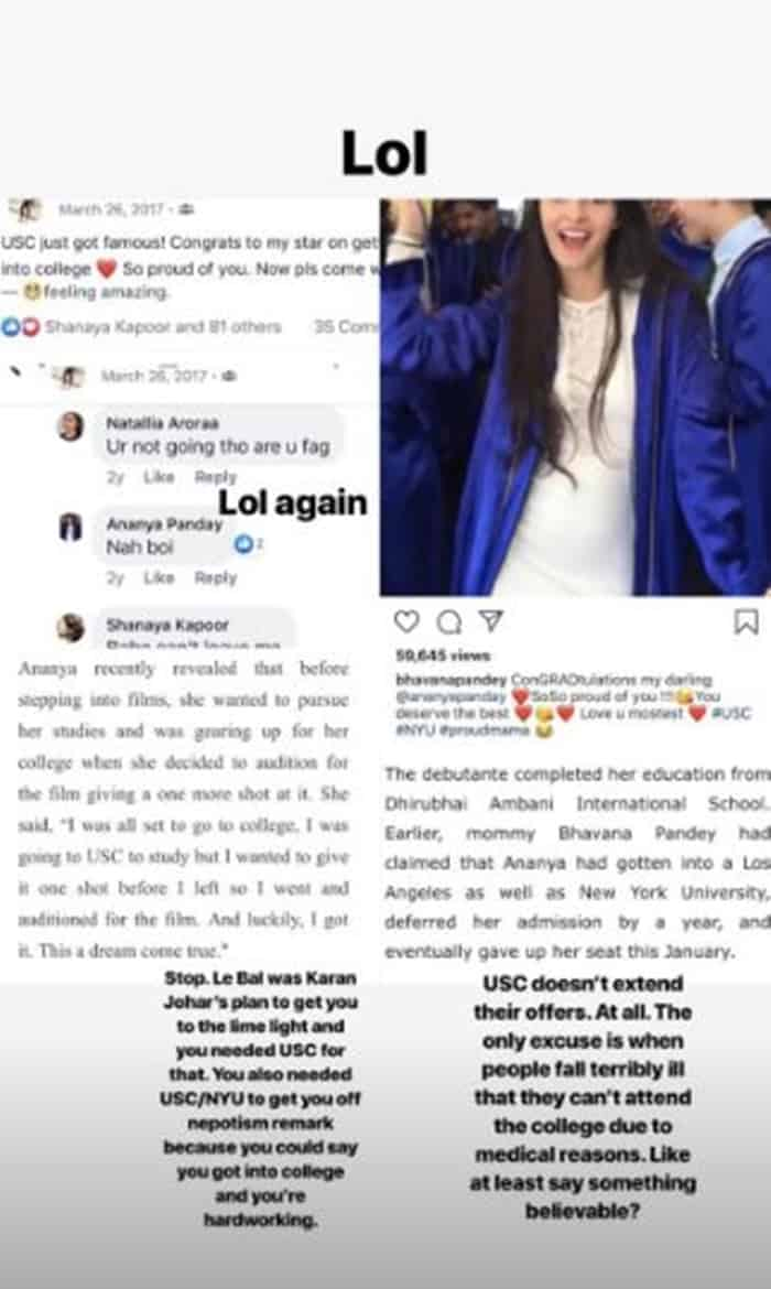 Ananya Panday and her fake degree story. Complete Story: Ananya Panday and her fake degree story