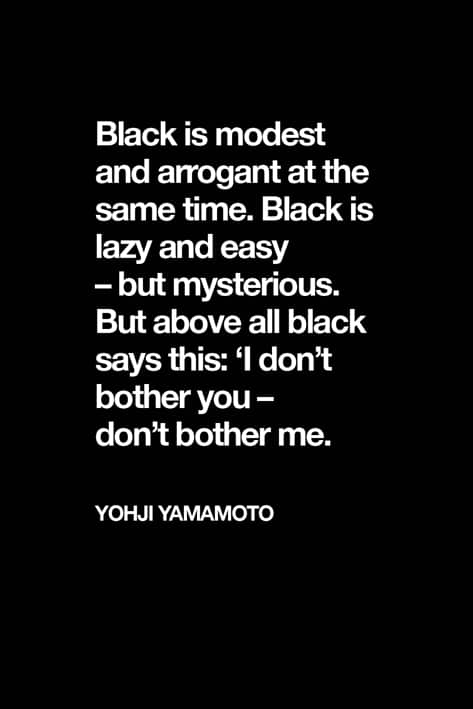 Black Color Quotes. 10 Things You Can Only Relate If You Love Wearing Black