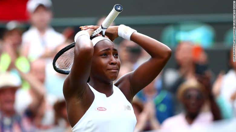 Cori Gauff turfs beats idol Venus Williams