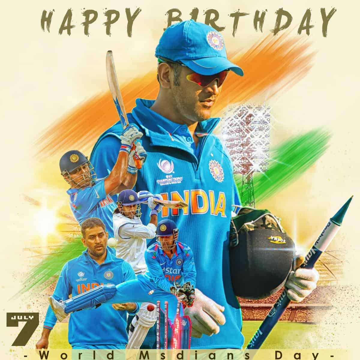 """Happy Birthday Dhoni.Watch Video: """"MS Dhoni, Not Just A Name"""" ICC Salutes MS Dhoni"""