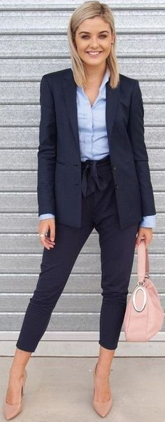 Office Wear Ideas for Indian Women Coat and Trousers