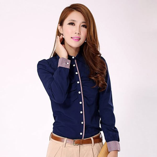 Office Wear Ideas for Indian Women Shirt and Trousers