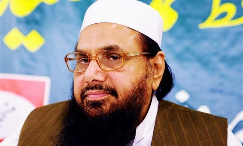 What charges are imposed on Hafiz Saeed. Global Terrorist and 26/11 Mastermind Hafiz Saeed arrested in Pakistan